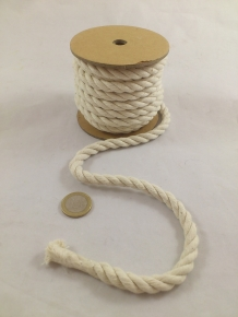 Rope cotton 1 cm 6 m.